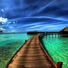 boardwalk-in-heaven-ipad-background