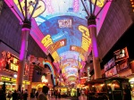 Downtown Las Vegas is home to the famous Freemonth Street Experience.