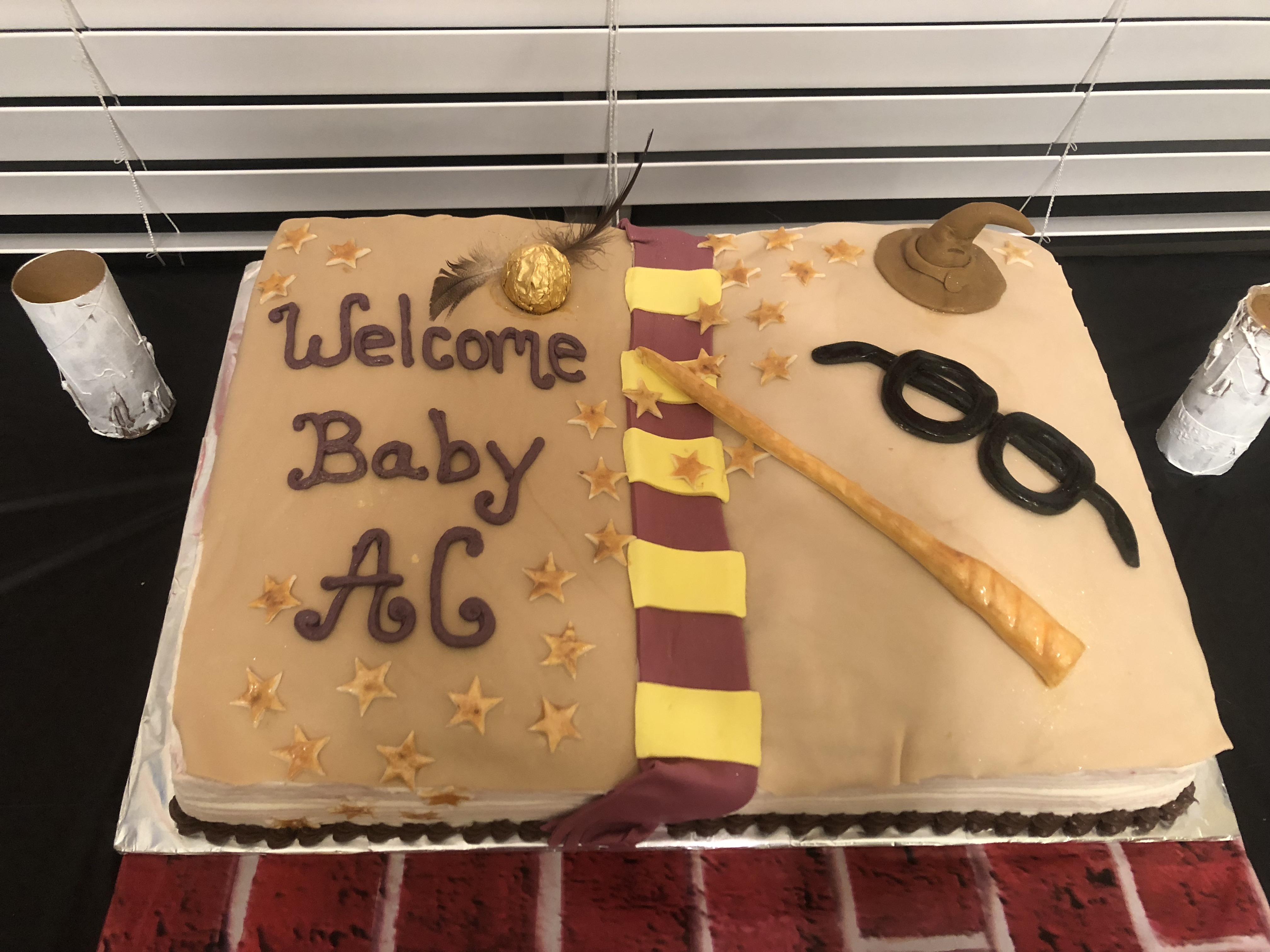 Harry Potter Inspired Baby Shower