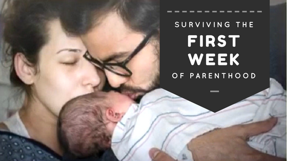 Survive first week of parenthood