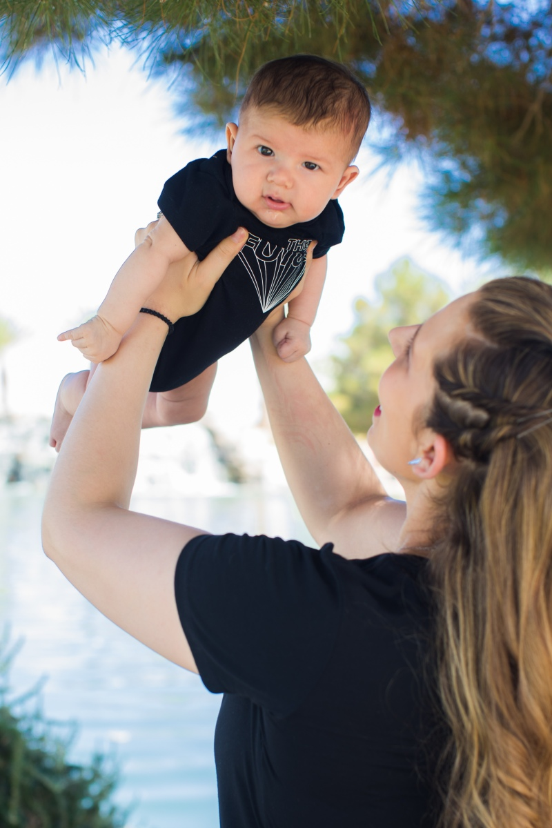 Mom and baby boy - Wonderful World of Bree