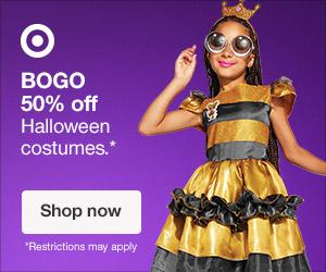 target halloween banner