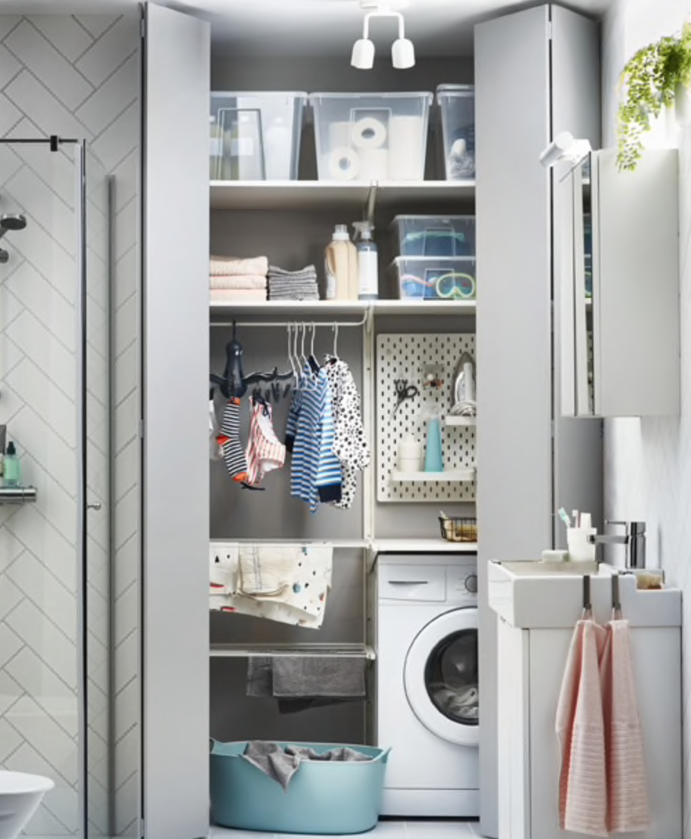 Ikea laundry room inspiration