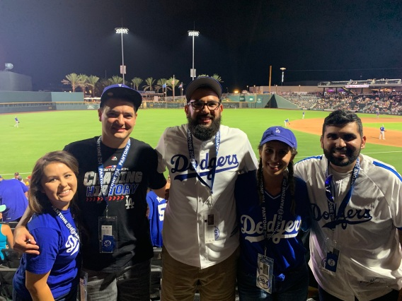 Dodger Fans at Aviator Game | Wonderful World of Bree