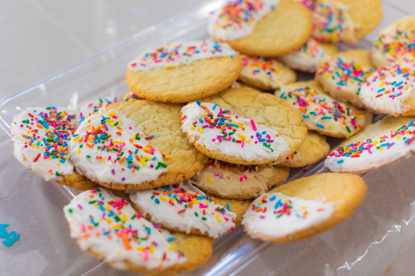 How to host a sprinkle baby shower , sprinkle cookie s