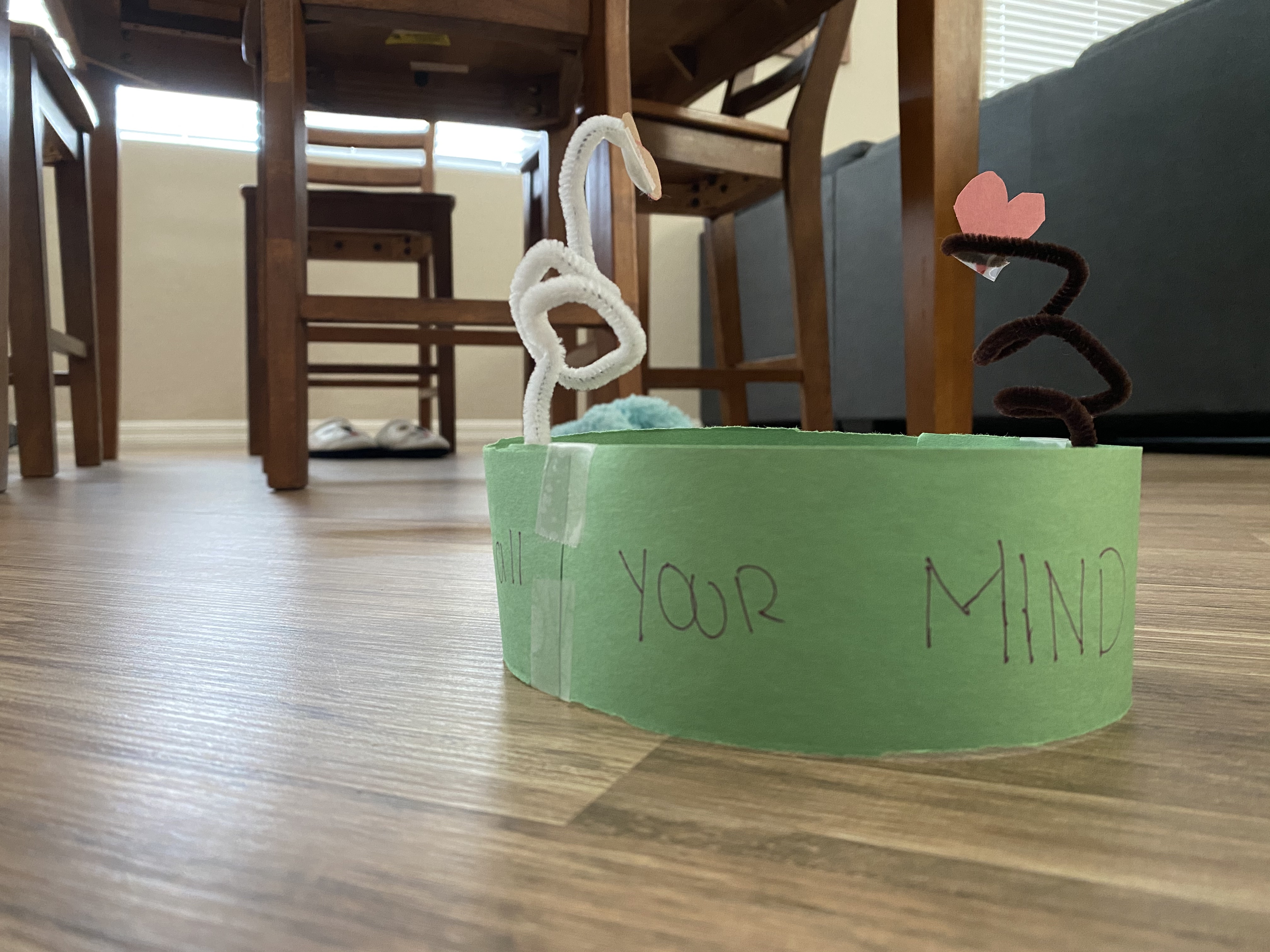 Sunday School at Home - love god with your mind headband